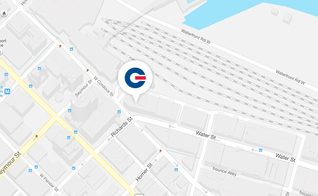 map of GCT corporate office